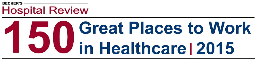 Talent Plus Named to Becker's Hospital Review 2015 Top 150 Great Places to Work in Healthcare