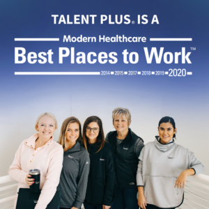 Talent Plus recognized as one of the Best Places to Work in Healthcare in 2020